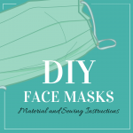 DIY: How To Make A PPE Face Mask